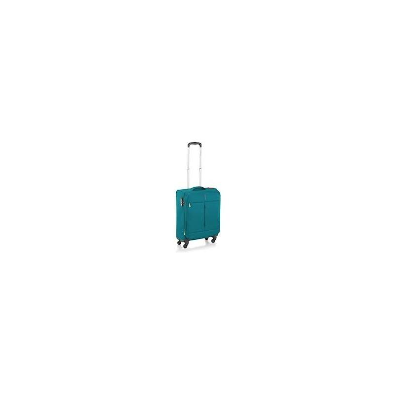 Trolley IRONIK Cabina 4 ruote exp. 415123 Smeraldo 55x40x20/23 cm