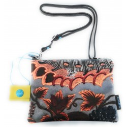 Gabs Pochette c/tracolla BEYONCE Studio Print tg.S Cuoio 345 Made in Italy 25x0x17 cm