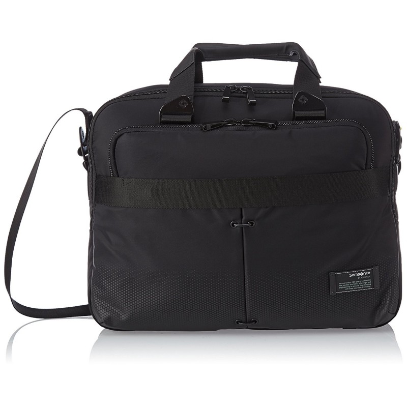 Samsonite Cityvibe Cartella Porta PC, Espandibile, 13''-16'', 24.5 litri, 44 cm, Jet Black