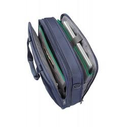 "Samsonite Desklite Borsa Messenger 15.6"" Espandibile, Poliestere, Blu, 21 ml, 43 cm"