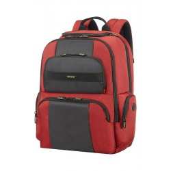 "Samsonite Infinipak Laptop Backpack 15.6"" Red/Black art 77698 1733"