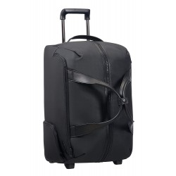 SAMSONITE Memphis - Wheeled Duffle Bag 55/20 Borsone, 55 cm, 59.5 liters, Nero (Black)