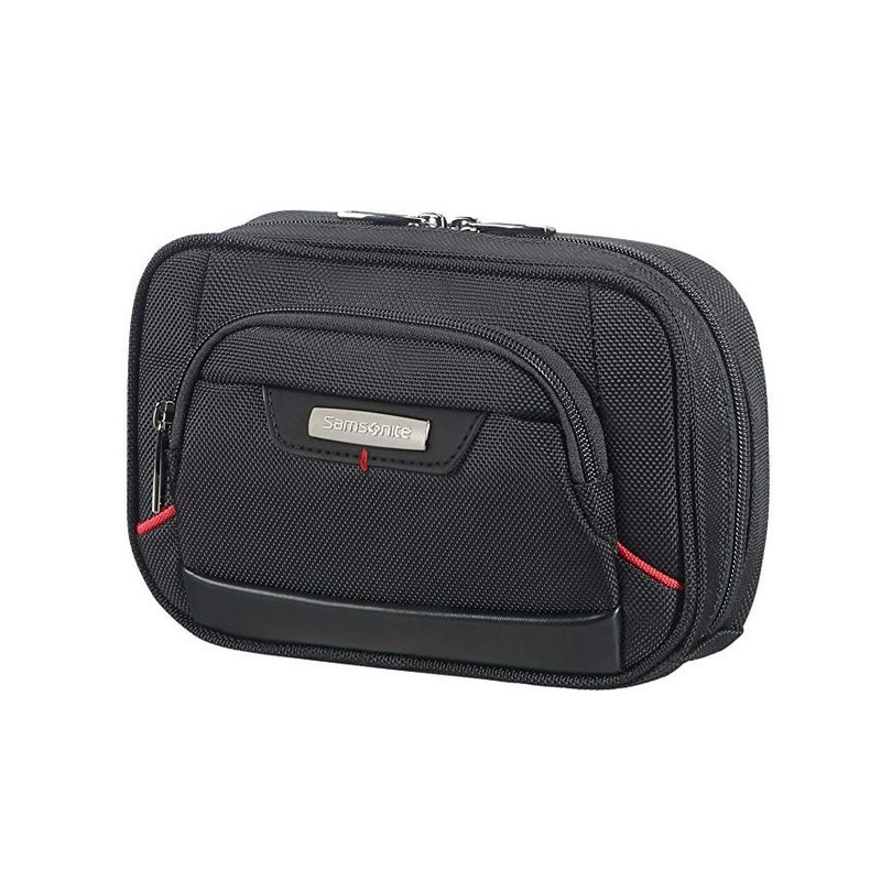 SAMSONITE Pro-DLX 4 Cosmetic Cases - Slim Toilet Kit Beauty Case, 20 cm, Nero (Black) 85226 1041