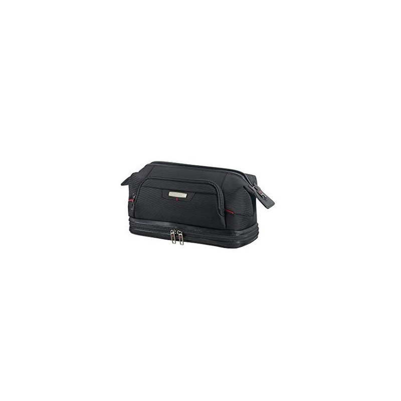 SAMSONITE Pro-DLX 4 Cosmetic Cases - Toilet Bag Large Opening Beauty Case, 28 cm, Nero (Black) 85228 1041