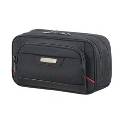 SAMSONITE Pro-DLX 4 Horizontal Pouch - Slim Toilet Kit Beauty Case, 20 cm, Nero (Black) 85226 1041