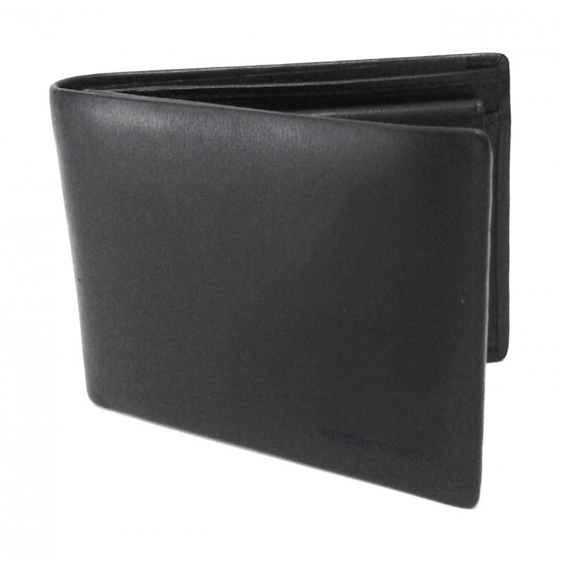 Momo Design Portafoglio c/patta 100% pelle Nero MDPU 00427M